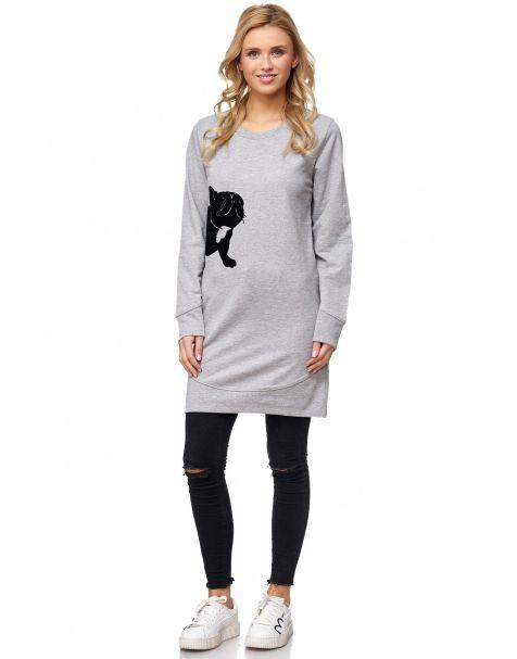 MAK23 - langes Sweatshirt