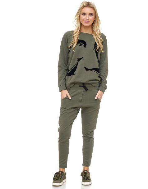 MAK24 - Sweatshirt - Farbe Khaki