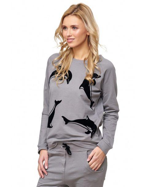 MAK24 - Sweatshirt - Farbe Grey