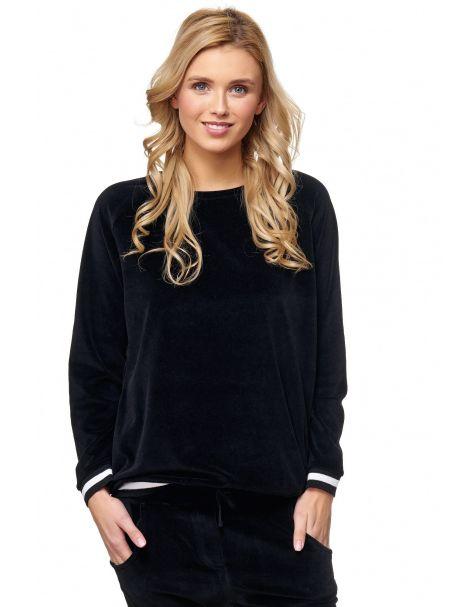 MAK32 - Samt-Sweatshirt