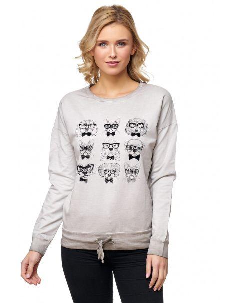 MD1114 - Sweatshirt - Farbe Grey