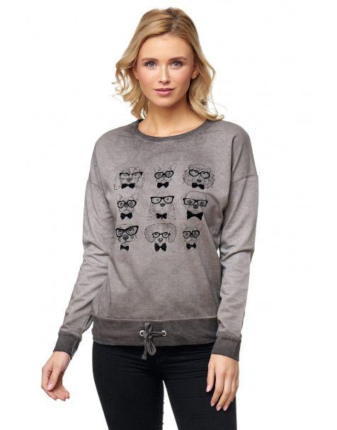 MD1114 - Sweatshirt - Farbe Darkgrey