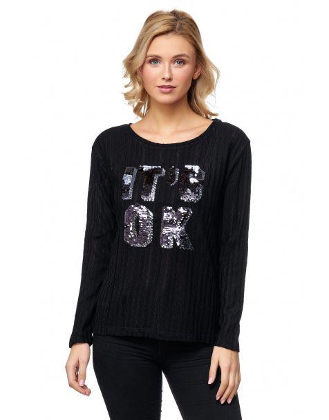 MD1209 - Pullover - Farbe Black