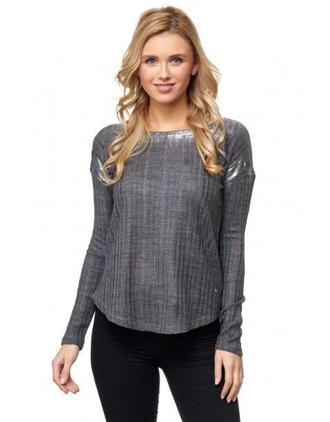 MD1210 - Pullover - Farbe Grey