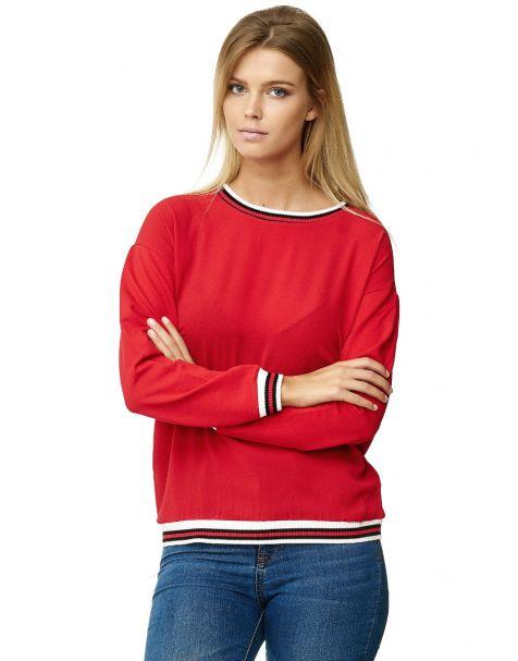 MD1324 - Sweatshirt - rot