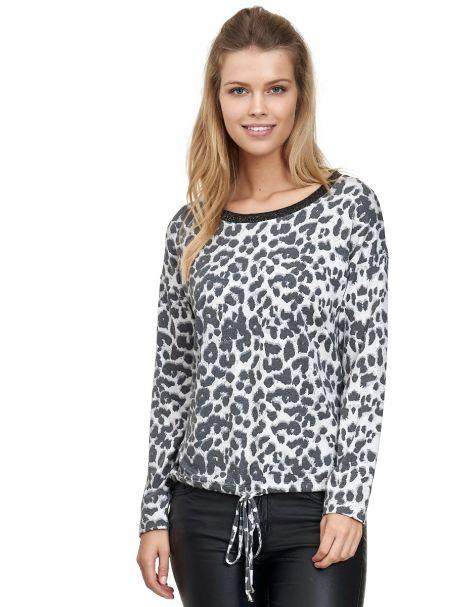 MD1448-Leopard Muster-Grau