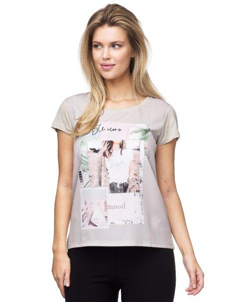 MD1548 Schickes Decay T-Shirt mit vielseitigem Aufdruck.